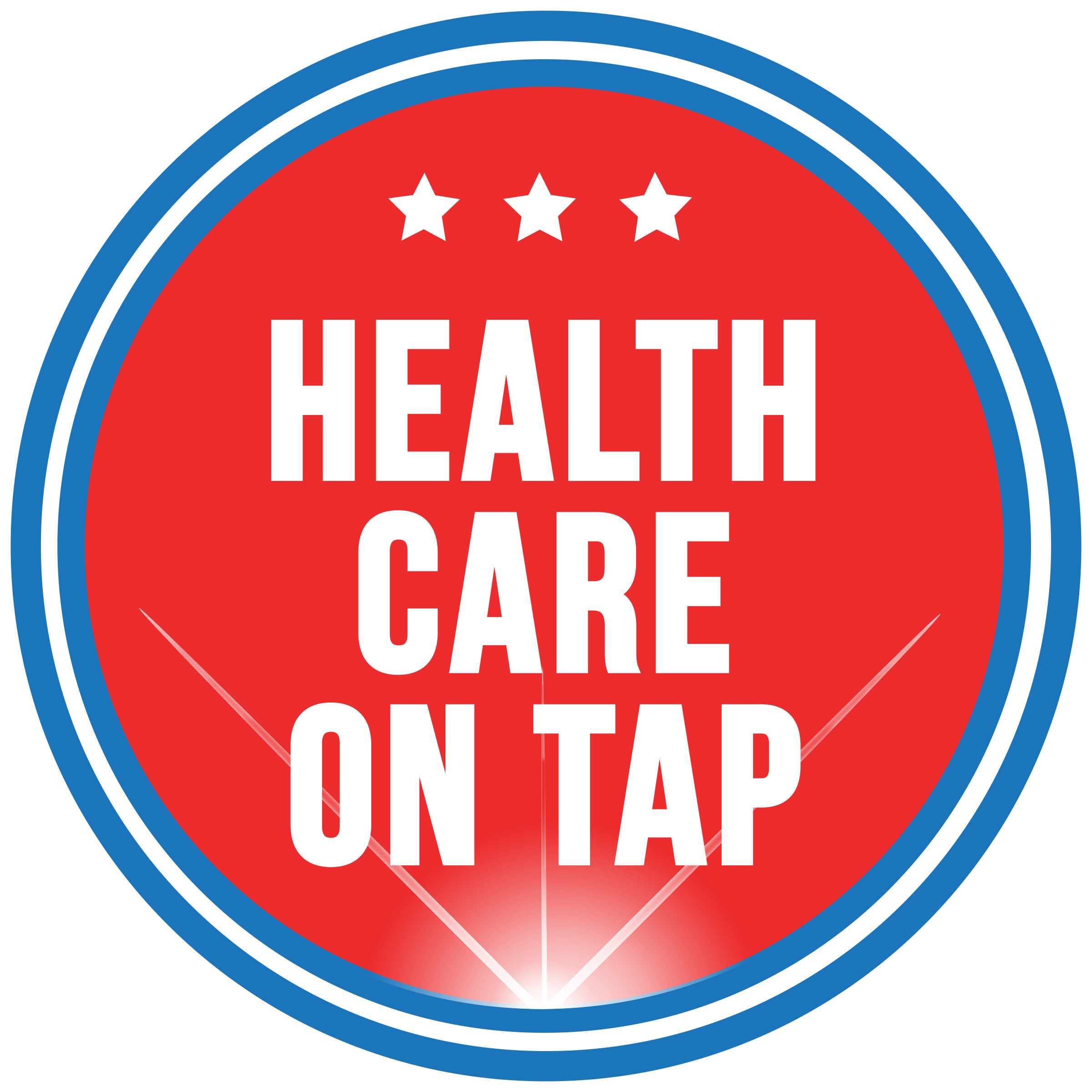 Health Care on Tap logo