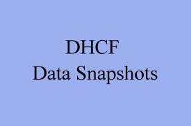 DHCF Data Snapshots