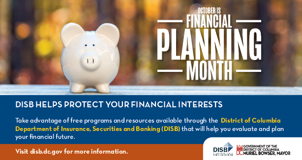 October as National Financial Planning Month