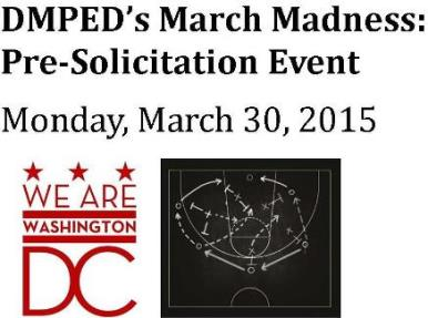 DMPED's March Madness: Pre-Solicitation