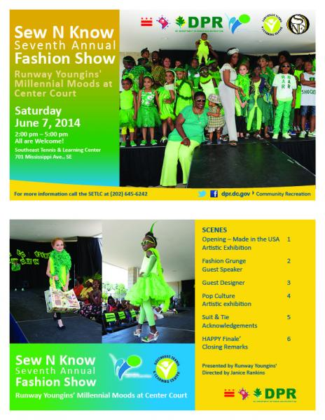 Sew N Know Seventh Annual Fashion Show