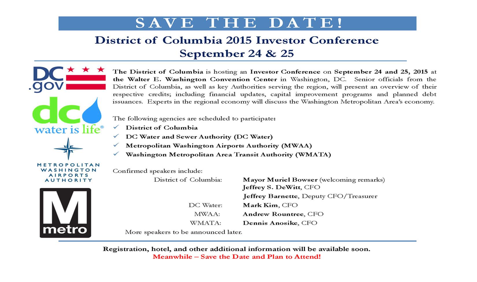 DC Investor Conference