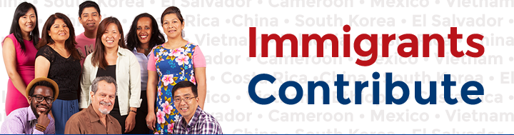 Immigrants Contribute Campaign