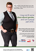 Transgender & Gender Identity Campaign Ad - Ashley