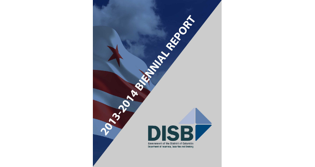 cover of DISB's 2013-2014 Biennial Report