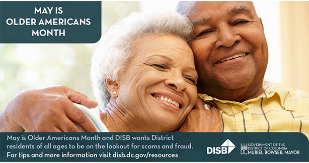 DISB Celebrates May as Older Americans Month