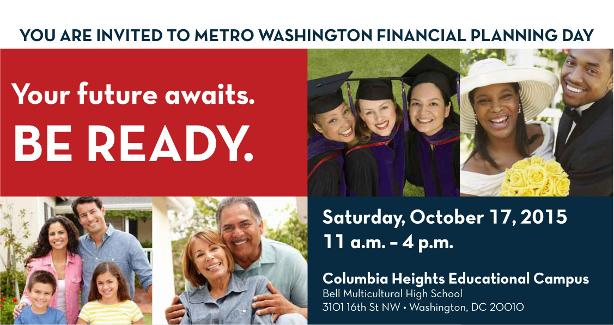 Join DISB Oct. 17 from 11 am to 4 pm for a free financial workshops and access to certified financial planners.