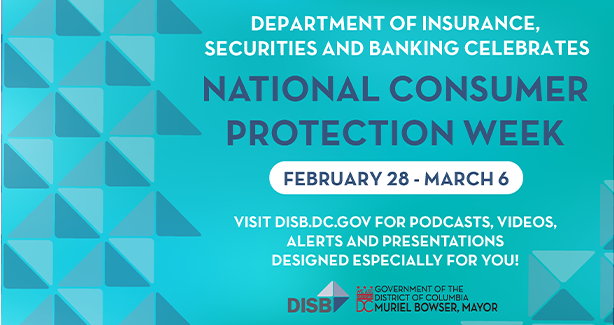 DISB Celebrates National Consumer Protection Week