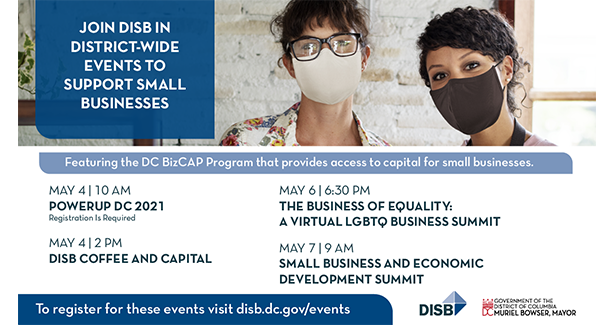 Join DISB in District-Wide Events to Support Small Businesses