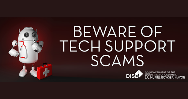 Beware of Tech Support Scams