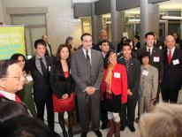 Swearing-in Reception for Commission on API Affairs with Mayor Gray